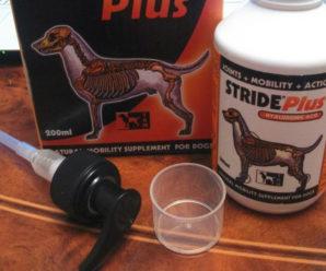 Страйд плюс – эффективное средство против боли в суставах для собак