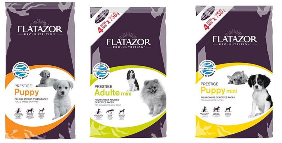 Состав корма для собак Flatazor