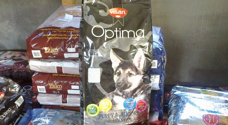 Корм Optima Nova для собак