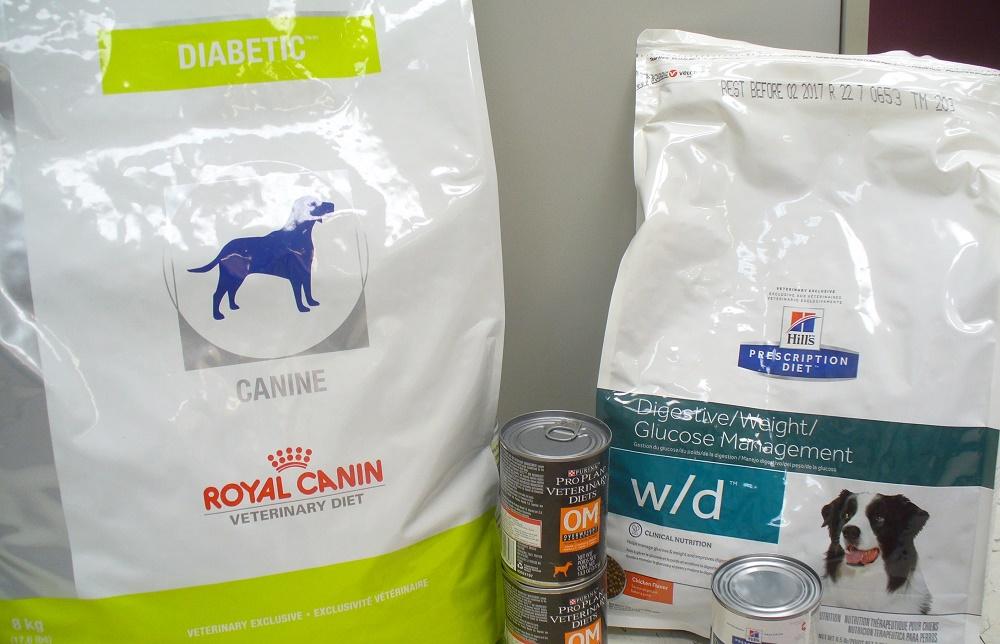 Питание собаки при диабете