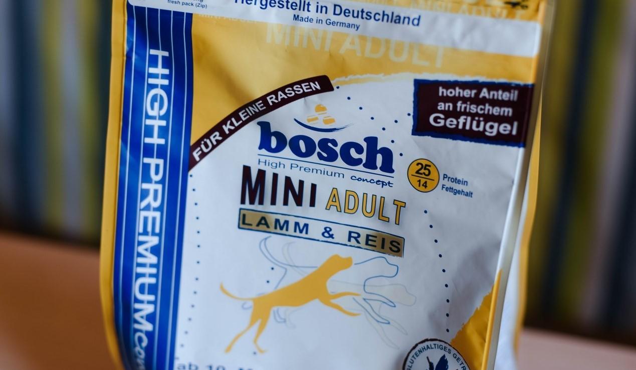 Линейка кормов Bosch