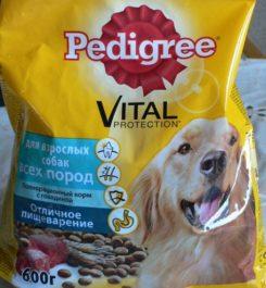 Корм для собак Педигри