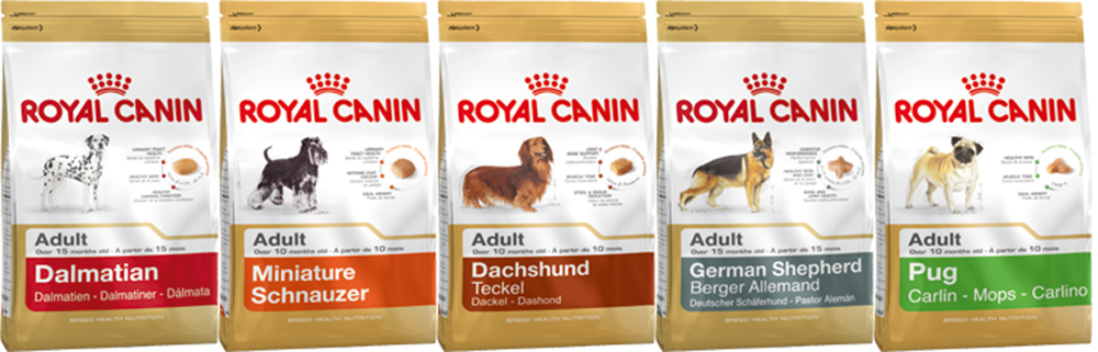 Повседневный корм Роял Канин для взрослых собак