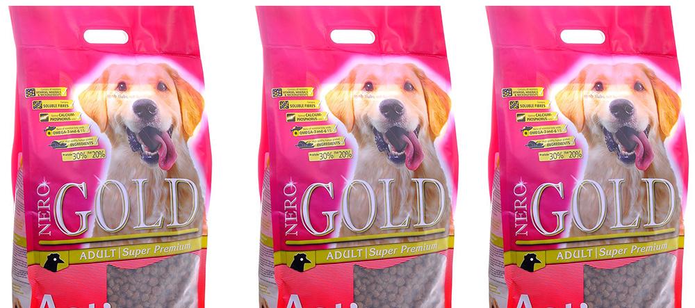 Корм Неро Голд для активных собак