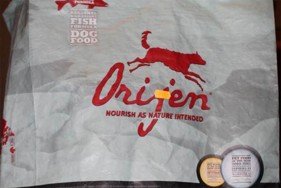 Корм для собак Orijen холистик класса