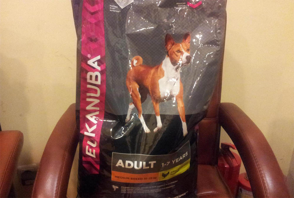 Корм для собак Эукануба