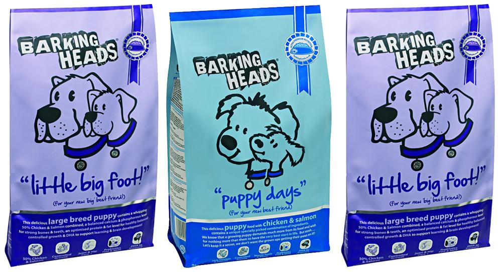 Корм для щенков Barking Heads