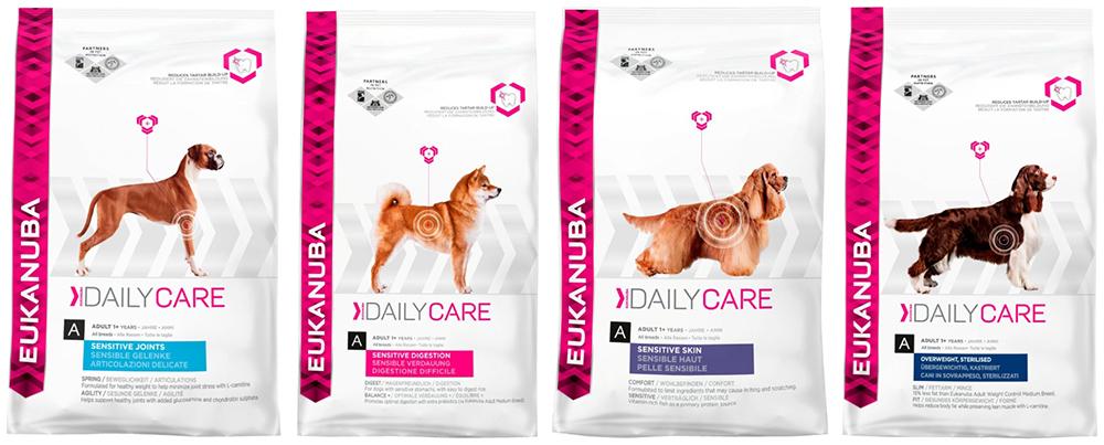 Корм Daily Care для собак с особыми потребностями