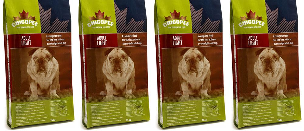 Чикопи гипоаллергенный корм для собак