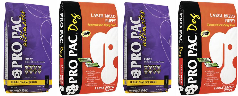 Корм для щенков, беременных и кормящих собак