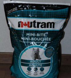 Состав корма для собак Нутрам