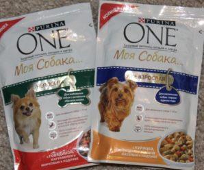 Корм для собак Purina One: обзор состава, виды и отзывы собаководов