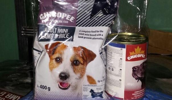 Состав корма для собак Чикопи