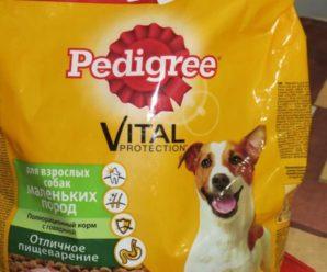 Корм для собак Pedigree – марка №1 в России