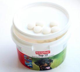 витаминно-минеральные добавки для немецких овчарок