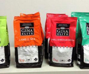 Собачий корм Gina – качество и доступность в одной упаковке
