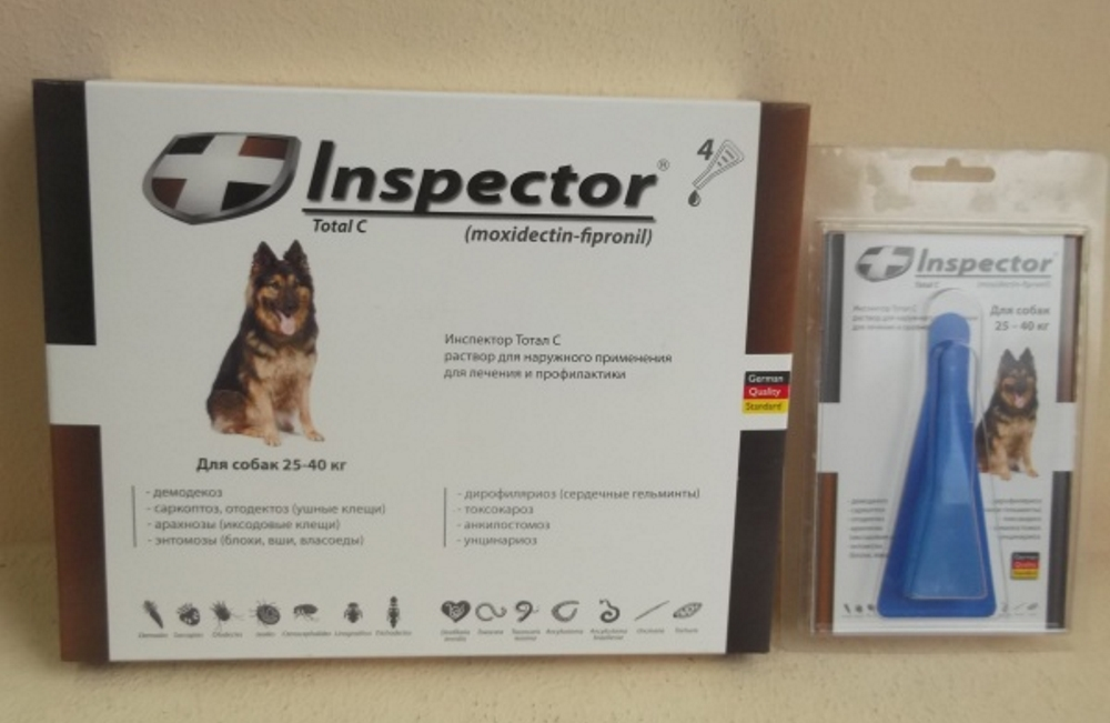 Инспектор капли инструкция