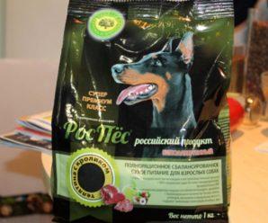 Обзор российского корма для собак РосПес